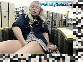 webcam in the libraary